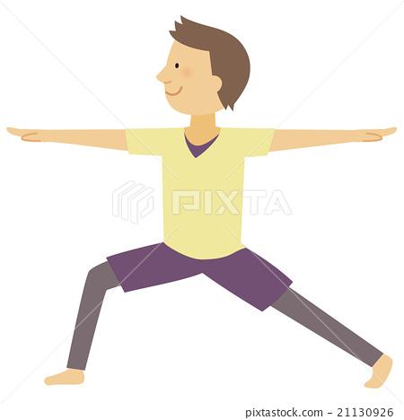 瑜伽 瑜珈 男性 21130926