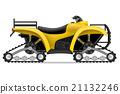 atv, motorcycle, vector 21132246