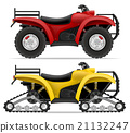 atv motorcycle four wheels and trucks off roads  21132247