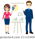 Business People Making Presentation 21133469