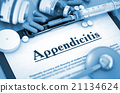Appendicitis Diagnosis. Medical Concept.  21134624