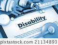 Disability. Medical Concept. 21134893