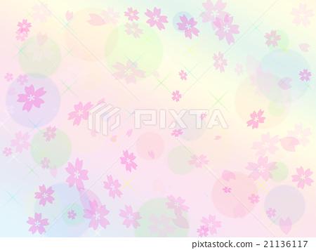 Cherry background background illustration 21136117