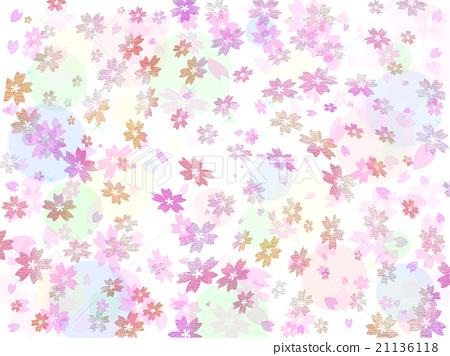 Cherry background background illustration 21136118