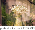 Dried flowers behind glass - Vintage Filter Effect 21137593