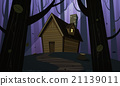 vector, house, cabin 21139011
