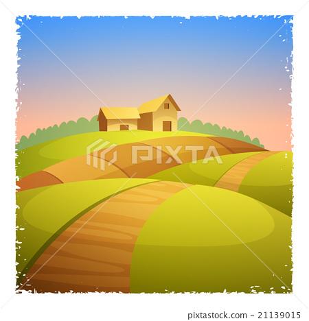 Farm Landscape 21139015