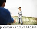 男孩 男孩們 父母和小孩 21142346
