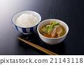 猪骨汤 豚汁 味增汤 21143118