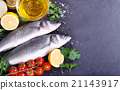 fresh fish sea bass 21143917