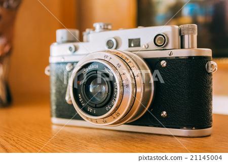 Russian Soviet Vintage Camera Zorkiy 2-S. Small 21145004
