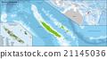 New Caledonia map 21145036