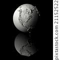 White Globe - North America 21152522