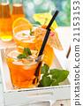 Lemonade with oranges. 21153153