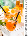 Lemonade with oranges. 21153154