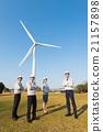 風能 團隊 藍領工人 21157898