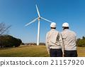 風能 藍領工人 工人 21157920
