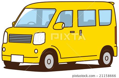 Light Wagon Car Yellow 21158666