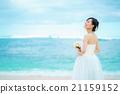 婚禮 海 大海 21159152