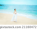 海灘 婚紗 結婚禮服 21160472
