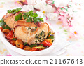 Turkey  breast for holidays. 21167643