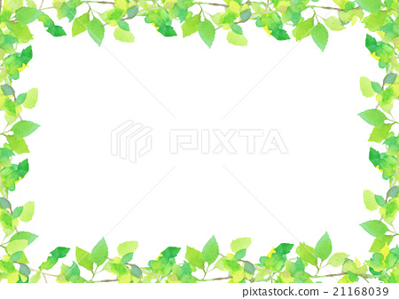 Illustration fresh green background 21168039