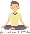 瑜伽 瑜珈 男性 21170330