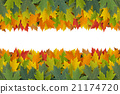 Autumn Border Design 21174720