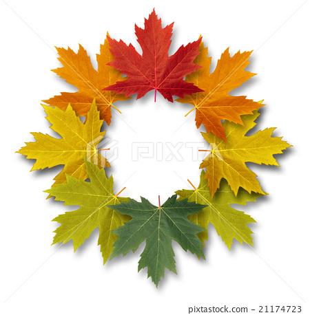 Autumn-Leaves-Frame 21174723