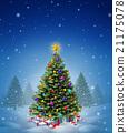 Christmas Winter Tree 21175078