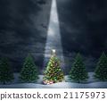 Illuminated Tree 21175973