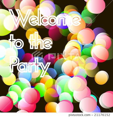 Vector bokeh party 21176152