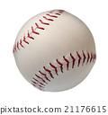 Baseball or Softball Isoltated 21176615