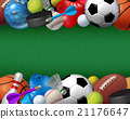 Sport And Activities Border 21176647