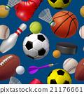 Sports Seamless Pattern 21176661