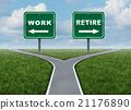 Work Or Retire 21176890
