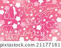 动物和樱桃树 21177161