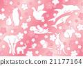 动物和樱桃树 21177164