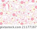 动物和樱桃树 21177167