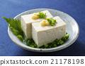 冷豆腐 豆腐 日本料理 21178198