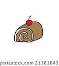 Desert roll cake 21181843