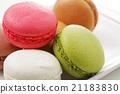 马卡龙 甜食 蜜饯 21183830