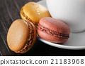 馬卡龍 甜點 甜食 21183968