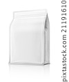 blank packaging pouch ready for product design 21191610