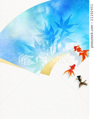 日本纸 和纸 树叶 21192451