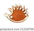 Gingerbread cookie 21200796