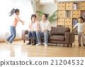 4 인 가족의 라이프 스타일 21204532