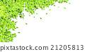 葉子新綠色樹背景 21205813