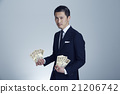 男人 富人 錢幣 21206742
