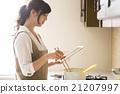 烹饪 平板电脑 平板 21207997